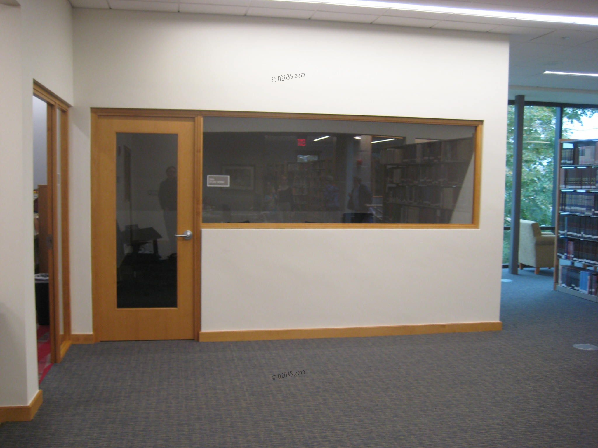 Public library study room