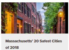 Franklin MA safest city