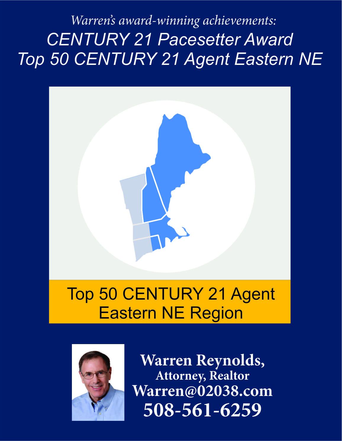 Warren Reynolds Realtor MA Massachusets real estate