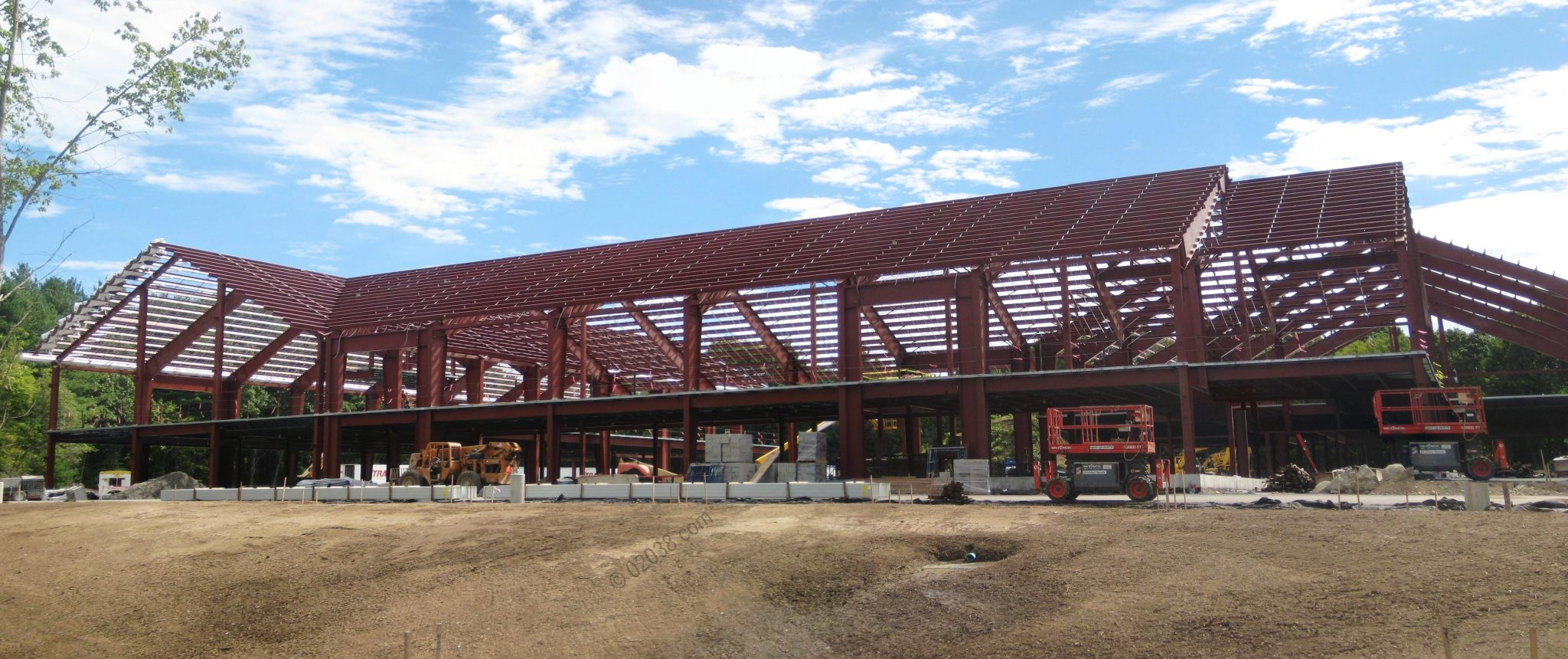 New home for Franklin's charter school taking shape | Franklin, MA