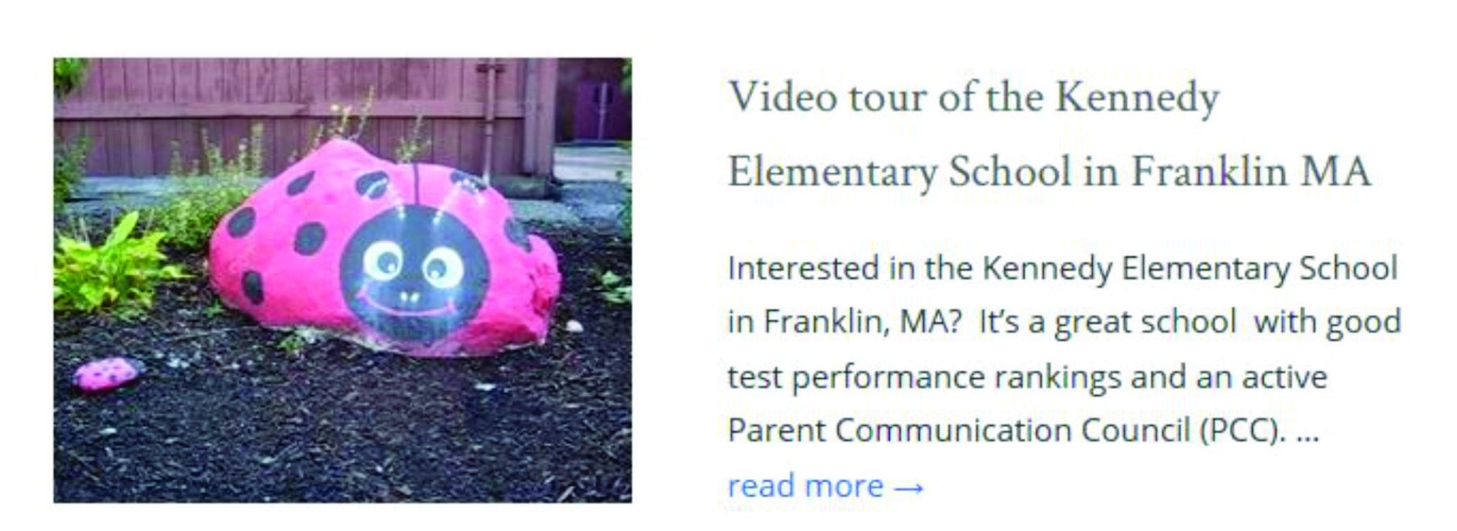 Kennedy Elementary School Franklin MA