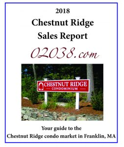 Chestnut Ridge Condos Franklin MA sales report