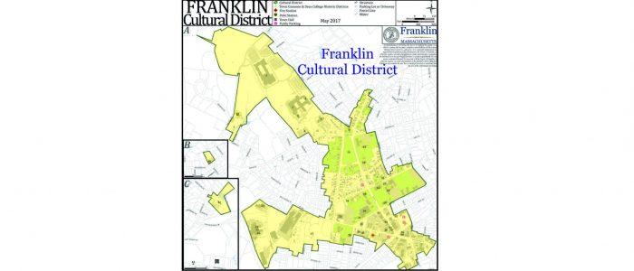 Franklin Cultural District Franklin MA map