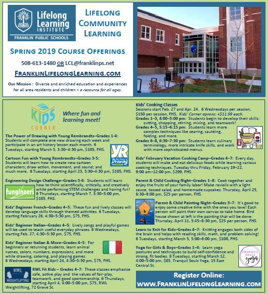 Franklin Lifelong Learing Institute