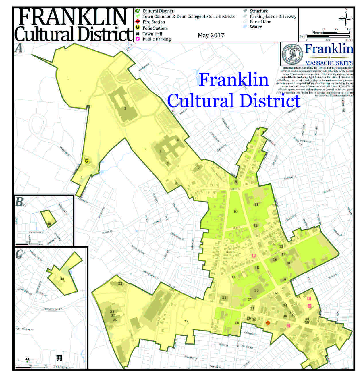 Franklin Cultural District Franklin MA