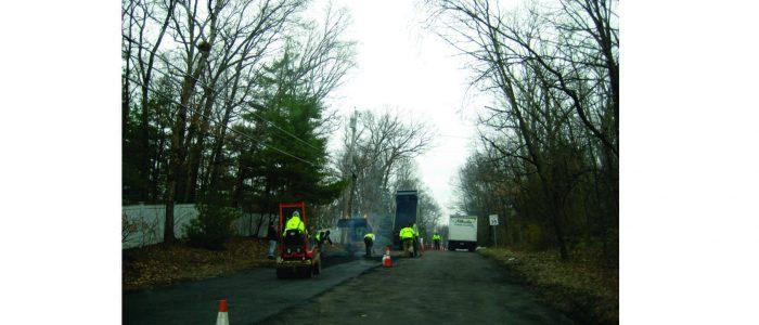 Franklin MA road work 2019
