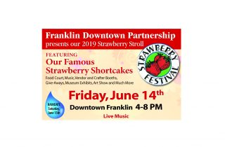 strawberry stroll Franklin MA 2019