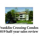 Franklin Crossing Condos Franklin MA - 2019 avg sale price