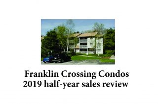 Franklin Crossing Condos Franklin MA - 2019 avg sale price