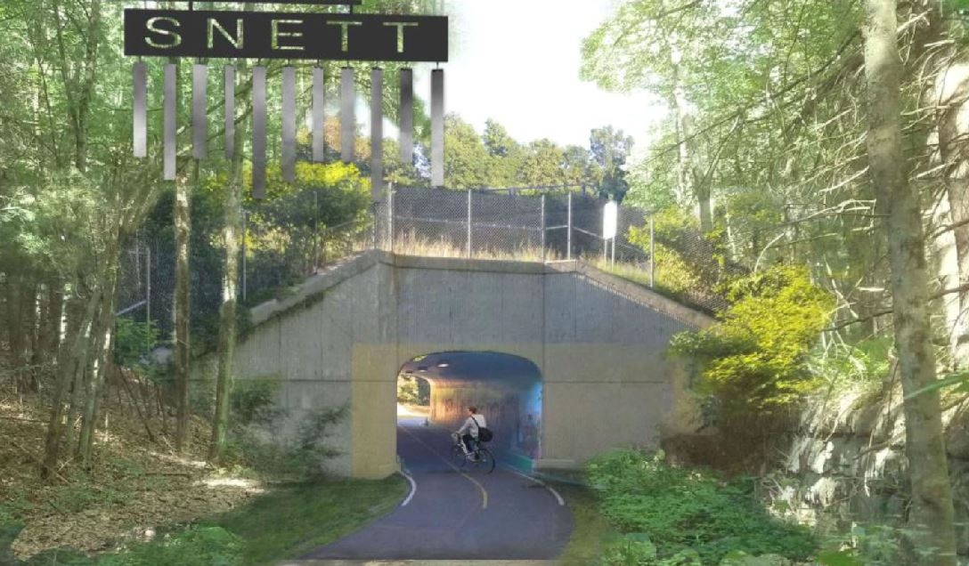 snett southern new england trunkline trail - Prospect St Franklin MA