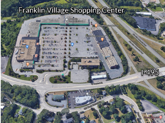 Franklin Village Shopping Center Franklin MA
