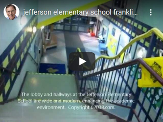 Take a video tour of the Jefferson Elementary School in Franklin, MA.