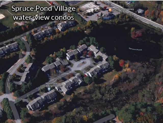 Spruce Pond Village Condos Franklin MA water views
