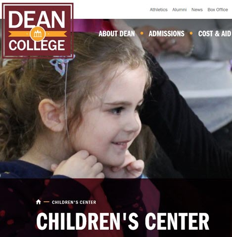 Dean College Children's Center Franklin, MA