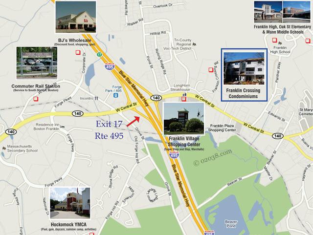Franklin crossing condominiums Franklin MA