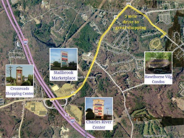 Hawthorne Village Condos Franklin MA