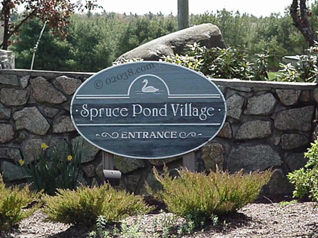 Spruce Pond Village Condos in Franklin MA
