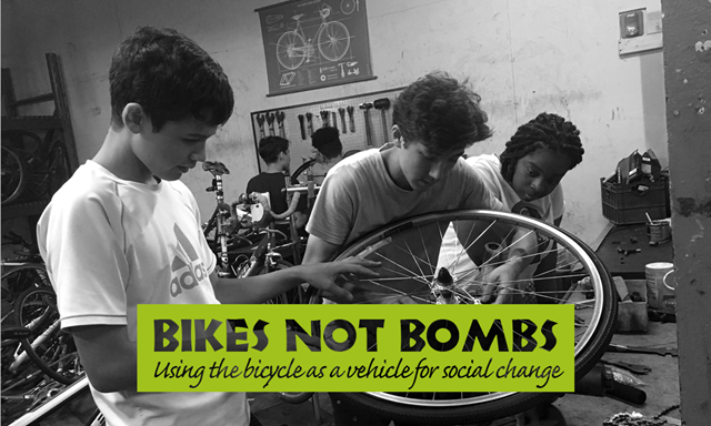 Bikes not bombs Franklin MA