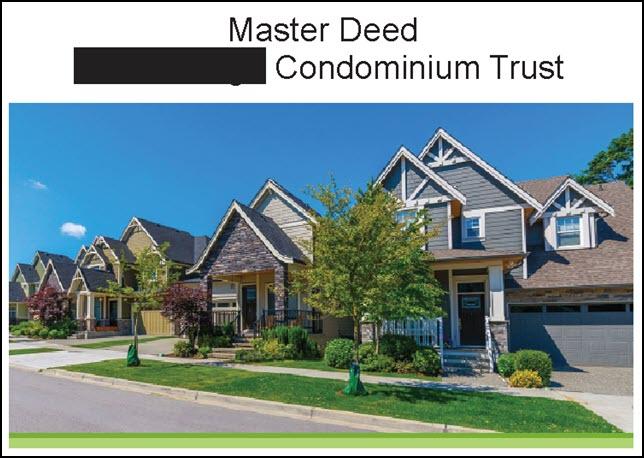 condo documents common area repair
