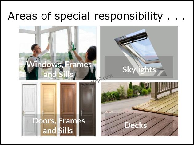 exterior repair condo unit owner